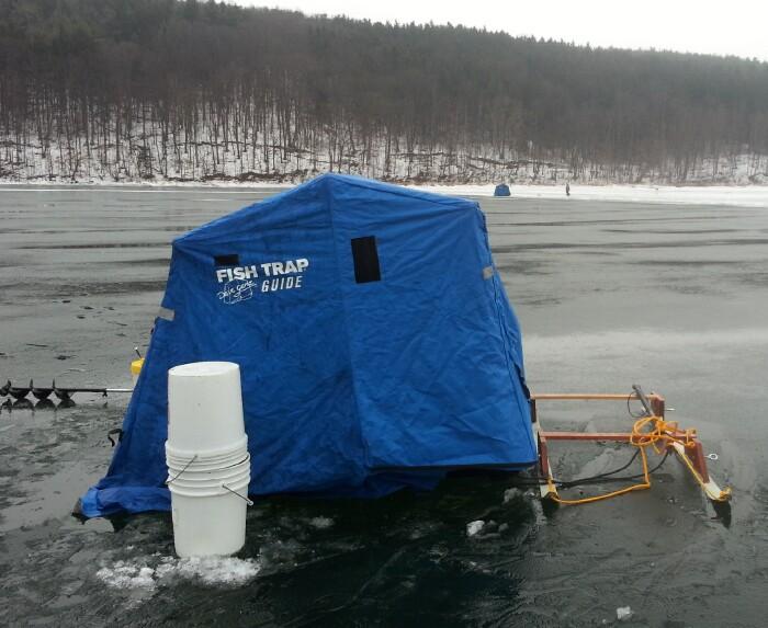 Canadice hemlock lakes for Swedish pimple ice fishing